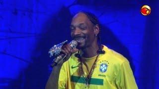 "Snoop Dogg canta ""Sensual Seduction"" no Vivo Rio / RJ"