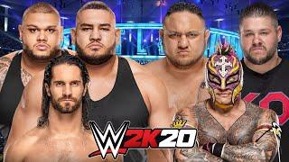WWE 2K20 | SETH ROLLINS & AOP vs REY MYSTERIO, SAMOA JOE & KEVIN OWENS