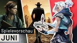Neue Spiele im Juni: The Last Of Us 2, Valorant, Desperados 3 und viele mehr
