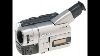 How To Connect A Sony CCD-TRV37 Handycam Camcorder To A Panasonic DMR-EZ48V DVD Recorder