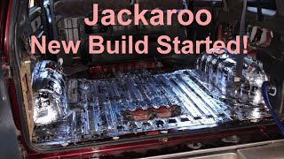 Jackaroo Build 3 Underway - More Deadener