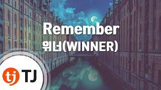 Baixar [TJ노래방] Remember - 위너(WINNER) / TJ Karaoke