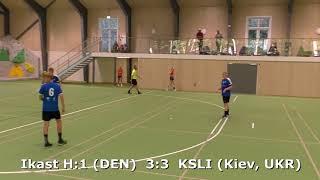 Handball. Ikast H:1 (DEN) - KSLI (Kiev, UKR). Viborg. U16boys. Gr PO-A3. GENERATION HANDBALL-2018