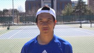 Interview with UMKC Men's Tennis Team member Vinny Pham