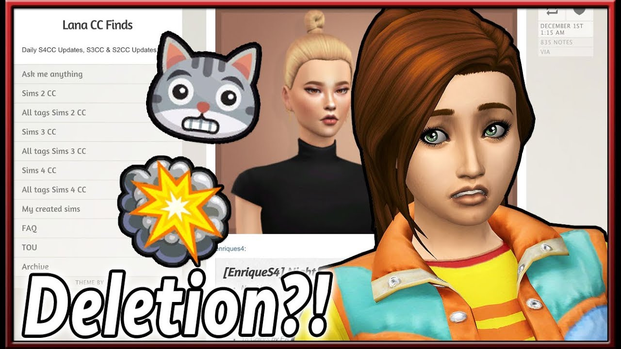 Lana Cc Finds Being Deleted The Sims 4 Custom Content Youtube I just started using it for about two weeks before it stopped. lana cc finds being deleted the sims 4 custom content