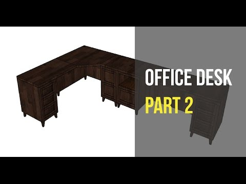 Office Desk Part 2 - Cabinet and Drawer Build