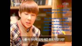 [ENG SUB] Elite Interview - Sunggyu