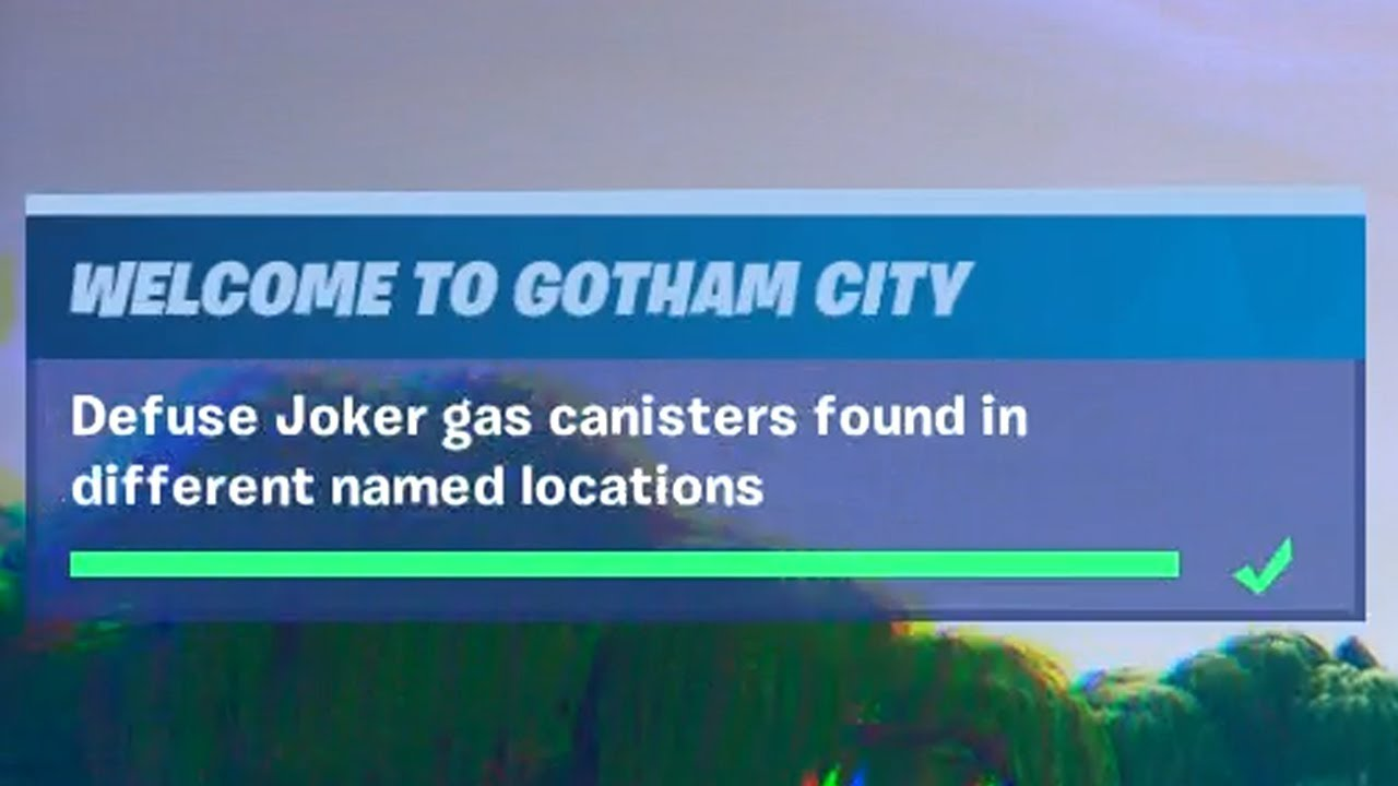 Defuse Joker Gas Canisters Found In Different Named
