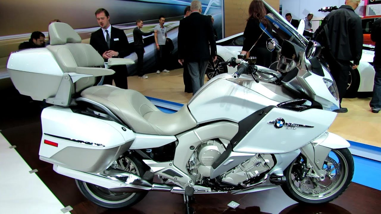 2014 bmw k1600gtl motorcycle - walkaround - 2013 la auto show
