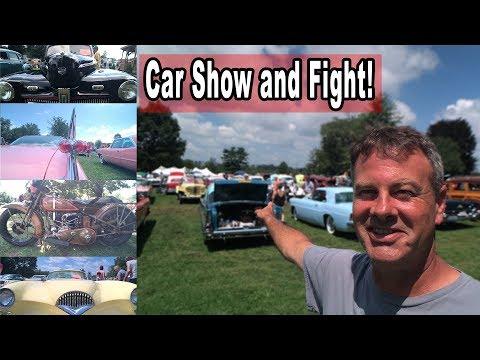 The big Car show and fight! - Das Awkscht Fescht Car Show!