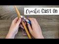 Knitting for Crocheters: Crochet Cast On | Sewrella