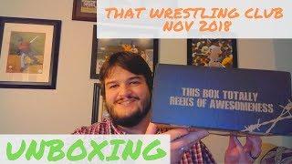 That Wrestling Club November 2018 Unboxing - Boom Studios Giveaway