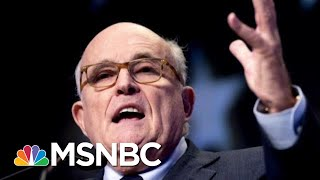 Oversight Committee Member: We'll Have To Ask Pompeo About Giuliani | The Last Word | MSNBC