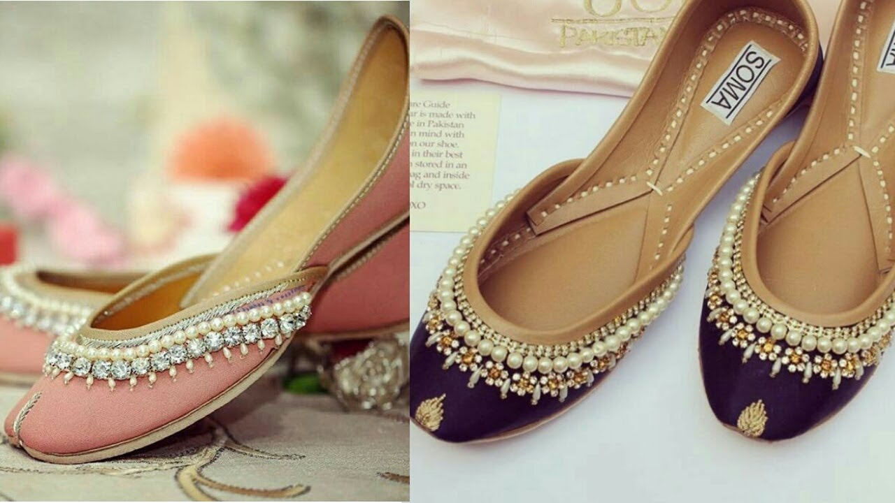 Khussa modern shoes designs collection