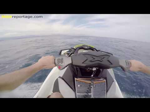 2016 SEA-DOO RXP-X 300 ch jump at 104 km/h MAXreportage