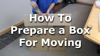 How To Set Up A Box For Packing
