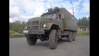 Военный фургон ЗИЛ-131 Кунг с генератором
