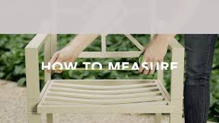 How To Measure For Outdoor Cushions
