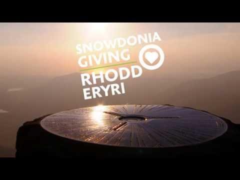 Snowdonia Giving - Rhodd Eryri -