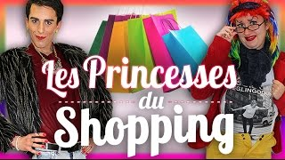 Les Princesses du Shopping - Le Monde à L'Envers