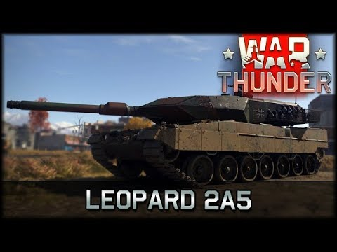 War Thunder - Leopard 2A5 [ deutsch 🐄 info ]