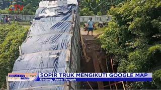 Jembatan di Jateng Ambruk Usai Dilewati Truk Korban Google Maps - BIP 25/12