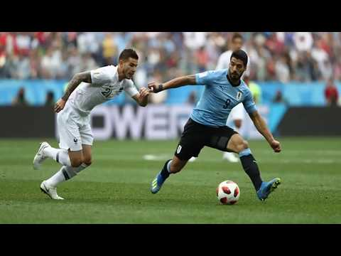 Parade Foto Uruguay vs Prancis di Babak 8 Besar PD 2018