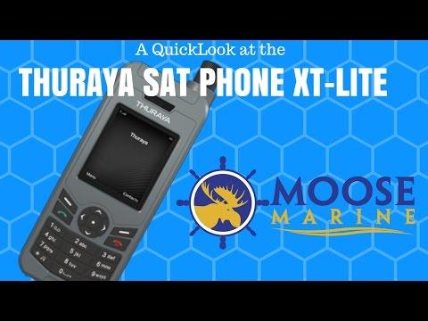 Thuraya Sat Phone QuickLook with Moose - Moose Marine