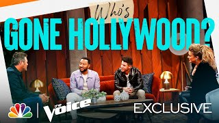 The Coaches Debate Who Has REALLY Gone Hollywood - The Voice 2021