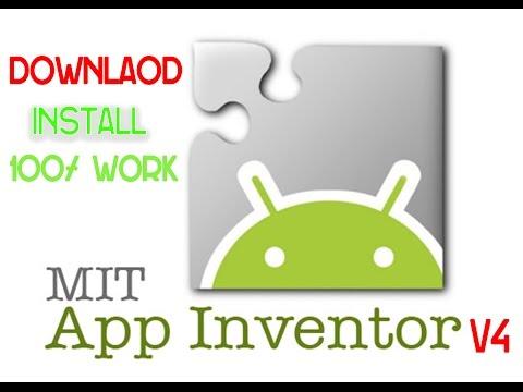 How To Install App Inventor V4 Offline 2017 | MIT | AI2U V4 64-bits.