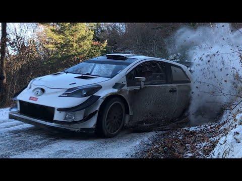Toyota Yaris WRC - Rallye Monte Carlo 2018 Tests - Esapekka Lappi / Janne Ferm (HD)