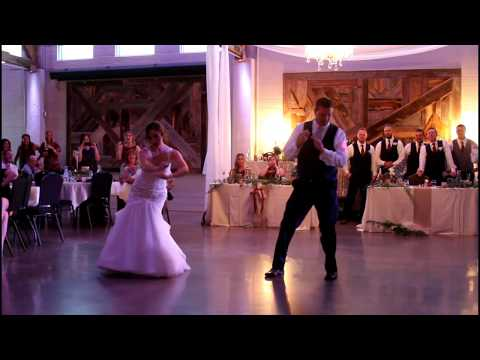 Father Daughter SURPRISE Dance- MILES/KING Wedding 2017