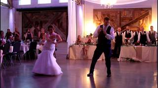 Father Daughter SURPRISE Dance MILES/KING Wedding 2017