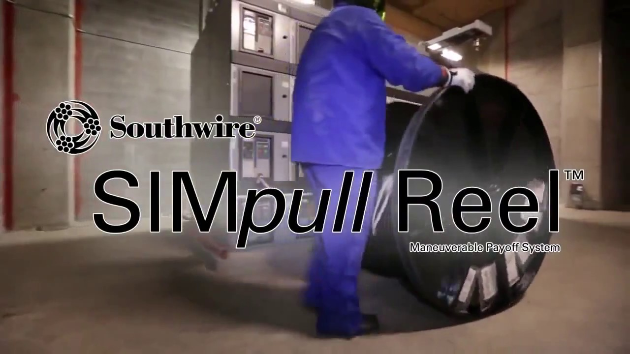 Southwire SIMpull REEL Maneuverable Payoff System - YouTube