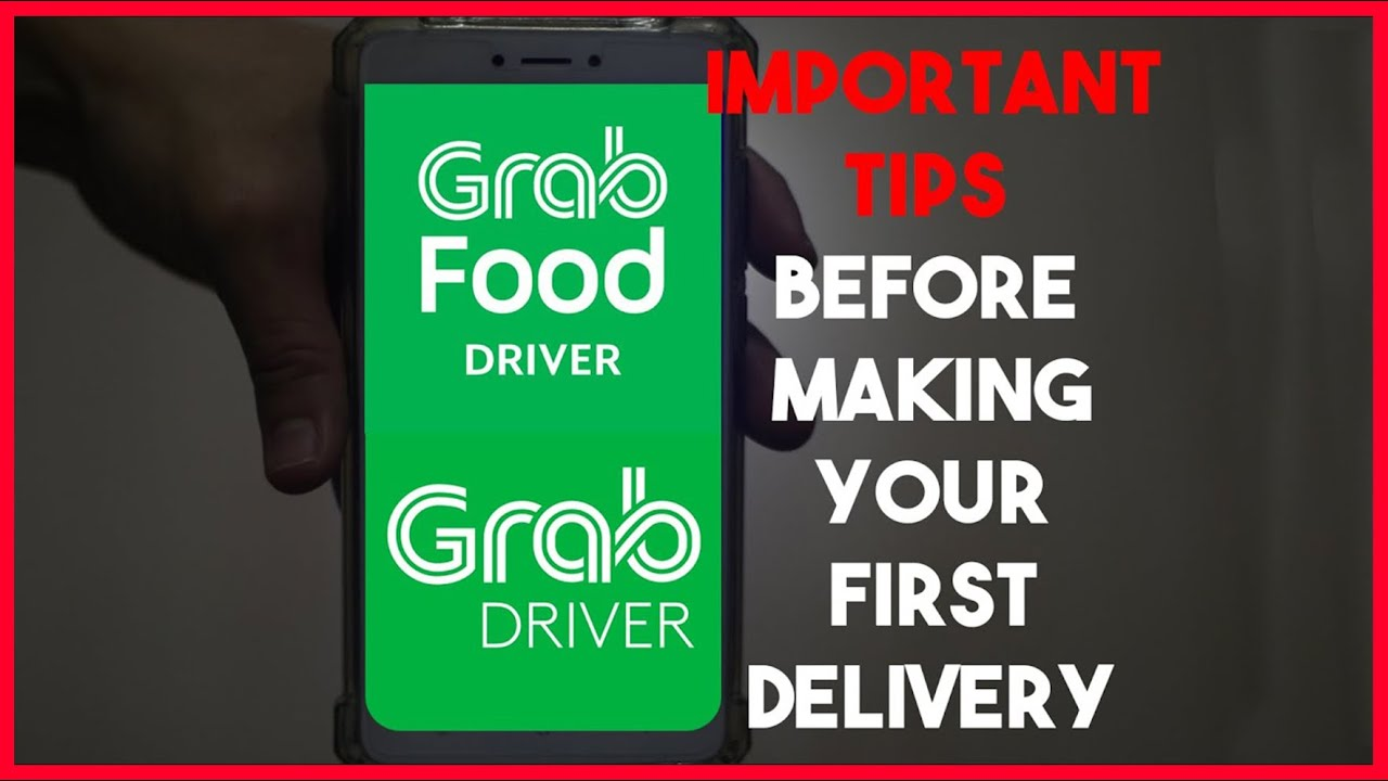 How To Use GrabFood Delivery App & Grab Driver App
