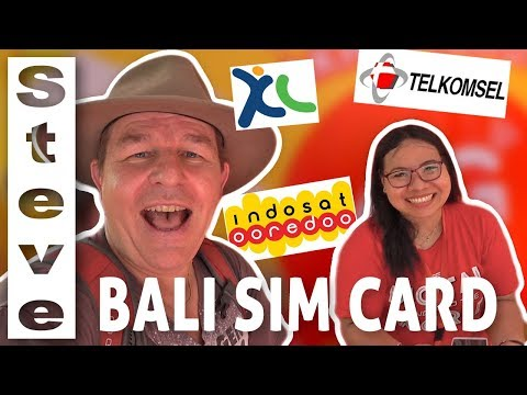 BUYING A SIM CARD IN BALI - Indonesian Sim Cards 🇮🇩
