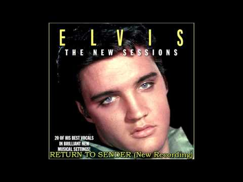 Elvis Presley - Return To Sender (New Session Overdub), [HD Remaster], HQ