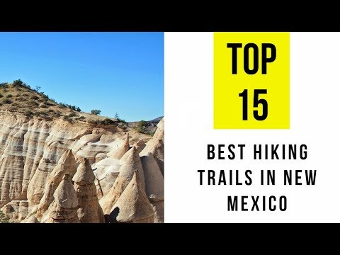 Best Hiking Trails in New Mexico. TOP 15