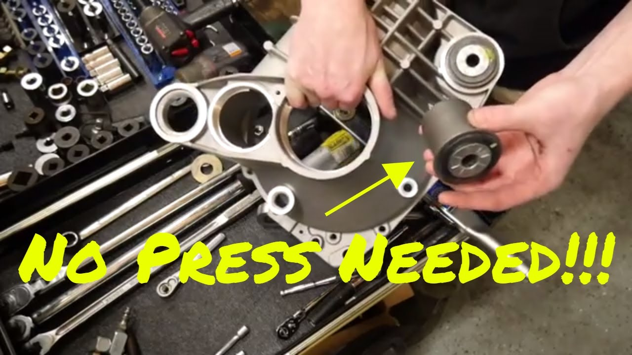 DIY - remove and Install bushings without specialty tools!