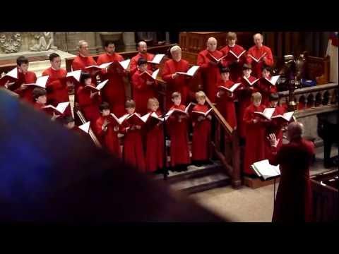 Trinity Church on The Green Choir of Men and Boys Annual Christmas Concert 2011