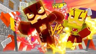 FLASH vs KID FLASH - Versus Minecraft // FRANGO