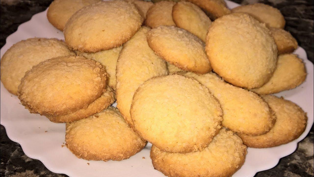 Рецепт песочного печенья с кокосом — pic 4