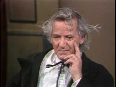Irwin Corey on Letterman, December 6, 1983
