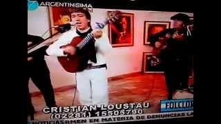 Cristian Loustau de Azul en Argentinisima Satelital