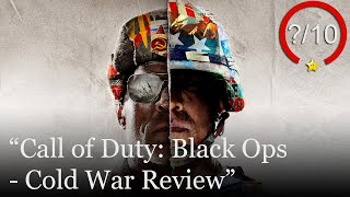 Call of Duty: Black Ops - Cold War Review [PS5, Series X, PS4, Xbox One, & PC] (Video Game Video Review)