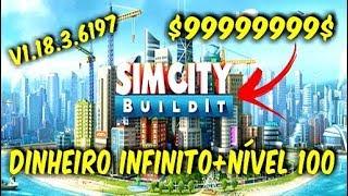SIM CITY BUILDIT V.1.18.3.6197 COM DINHEIRO INFINITO+NÍVEL 100 APK+DATA!!!