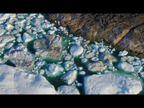 Greenland Icefiord 3D-visualization