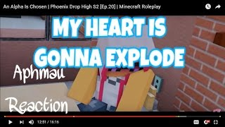 MY BABY AARON AHHH! | APHMAU REACTION | An Alpha Is Chosen | Phoenix Drop High S2 [Ep.20]