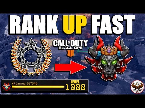 Double XP How to Rank Up Fast in Black Ops 4 | Best Mode for 2XP