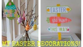 Easter Home Decor Tour ! Spring 2017